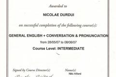 Certificat 11